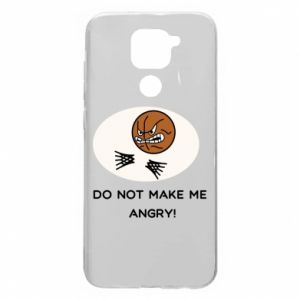 Xiaomi Redmi Note 9 / Redmi 10X case % print% Do not make me angry!