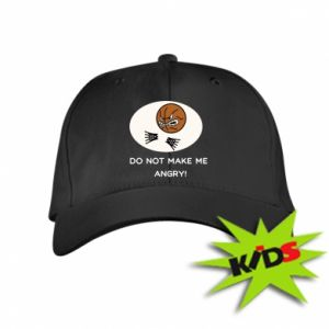 Kids' cap Do not make me angry!