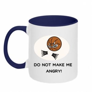 Kubek dwukolorowy Do not make me angry!