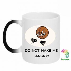 Kubek-kameleon Do not make me angry!