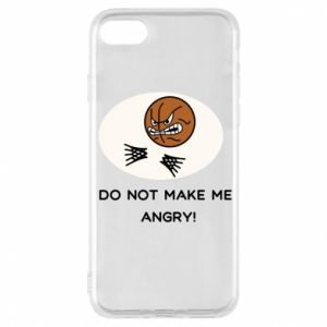 Etui na iPhone 7 Do not make me angry!