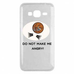 Samsung J3 2016 Case Do not make me angry!