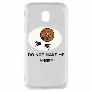Etui na Samsung J3 2017 Do not make me angry!