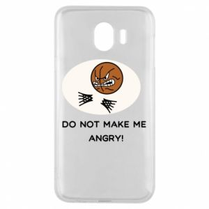 Samsung J4 Case Do not make me angry!