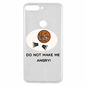 Huawei Y7 Prime 2018 Case Do not make me angry!