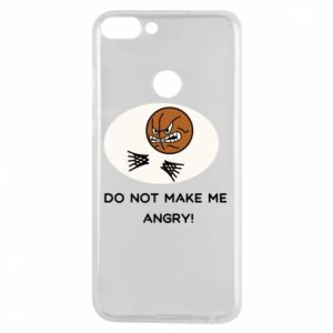 Phone case for Huawei P Smart Do not make me angry!