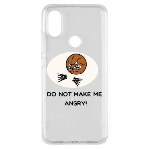 Phone case for Xiaomi Mi A2 Do not make me angry!