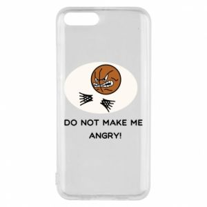 Xiaomi Mi6 Case Do not make me angry!
