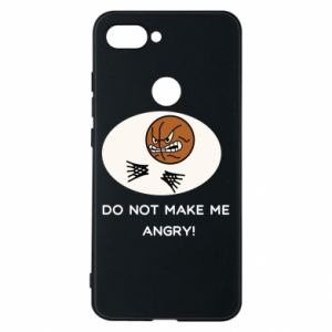 Xiaomi Mi8 Lite Case Do not make me angry!