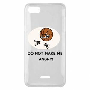 Phone case for Xiaomi Redmi 6A Do not make me angry!