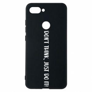 Etui na Xiaomi Mi8 Lite Do not think, just do it!