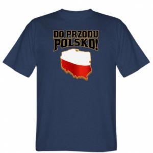 Koszulka męska Do przodu Polsko