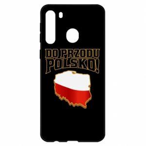 Etui na Samsung A21 Do przodu Polsko