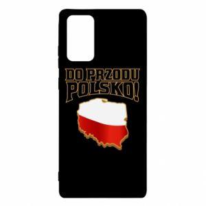 Etui na Samsung Note 20 Do przodu Polsko