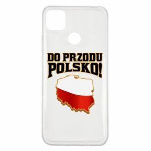 Etui na Xiaomi Redmi 9c Do przodu Polsko