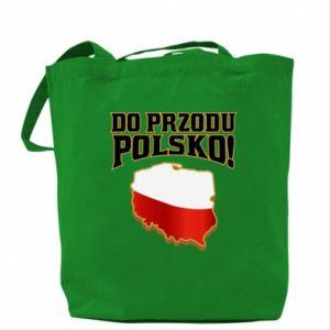Torba Do przodu Polsko
