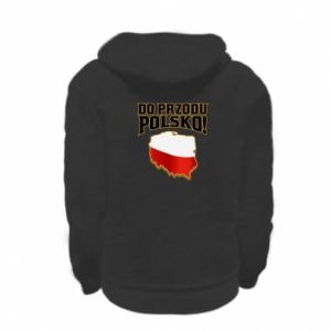 Kid's zipped hoodie % print% Forward Poland