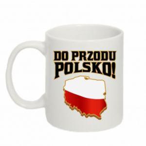 Kubek 330ml Do przodu Polsko