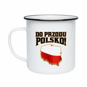 Enameled mug Forward Poland