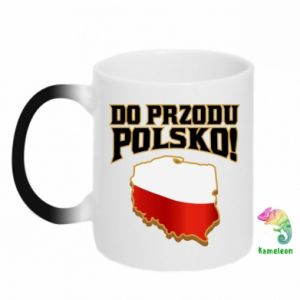 Kubek-magiczny Do przodu Polsko