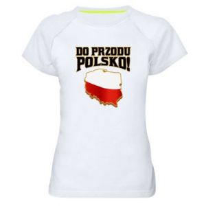 Women's sports t-shirt Forward Poland