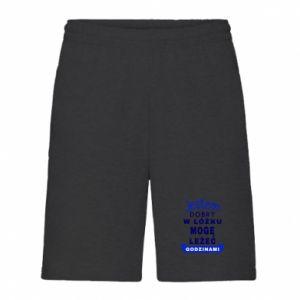 Men's shorts Good in bed