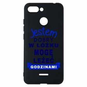 Xiaomi Redmi 6 Case Good in bed