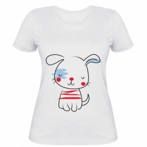 Women's t-shirt Doggy illustration
