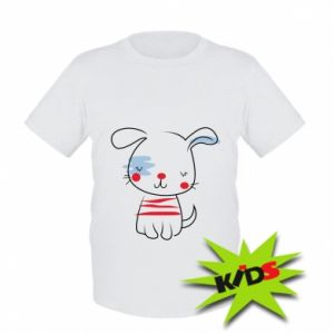 Kids T-shirt Doggy illustration
