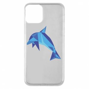 Etui na iPhone 11 Dolphin abstraction