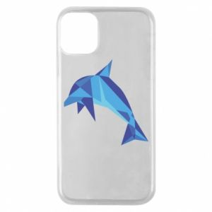 Etui na iPhone 11 Pro Dolphin abstraction