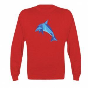 Bluza dziecięca Dolphin abstraction