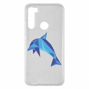 Etui na Xiaomi Redmi Note 8 Dolphin abstraction