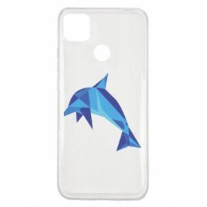Etui na Xiaomi Redmi 9c Dolphin abstraction