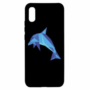 Etui na Xiaomi Redmi 9a Dolphin abstraction