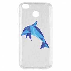 Etui na Xiaomi Redmi 4X Dolphin abstraction
