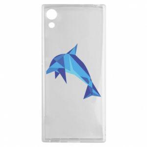 Etui na Sony Xperia XA1 Dolphin abstraction