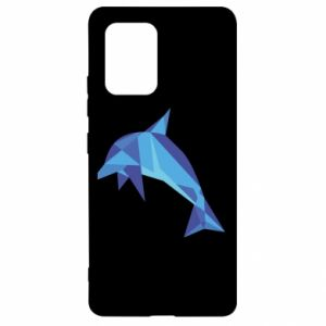 Etui na Samsung S10 Lite Dolphin abstraction