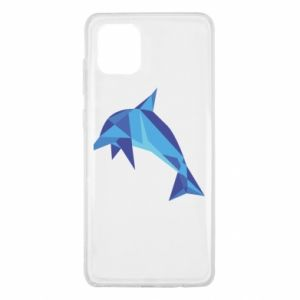 Etui na Samsung Note 10 Lite Dolphin abstraction