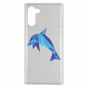 Etui na Samsung Note 10 Dolphin abstraction