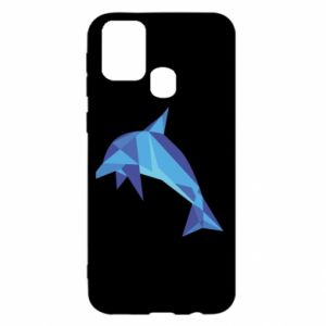 Etui na Samsung M31 Dolphin abstraction