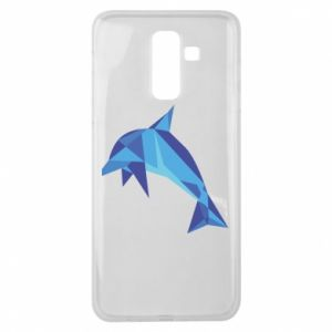 Etui na Samsung J8 2018 Dolphin abstraction