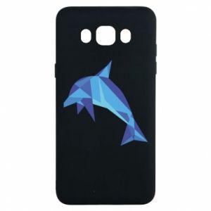 Etui na Samsung J7 2016 Dolphin abstraction