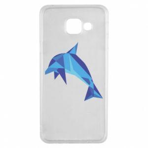 Etui na Samsung A3 2016 Dolphin abstraction