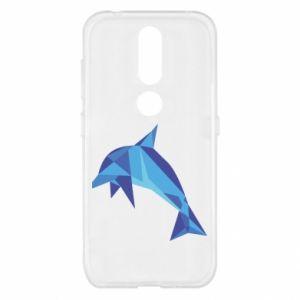 Etui na Nokia 4.2 Dolphin abstraction