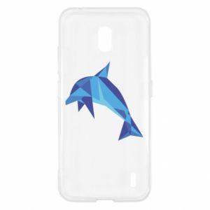 Etui na Nokia 2.2 Dolphin abstraction