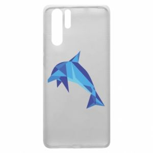 Etui na Huawei P30 Pro Dolphin abstraction