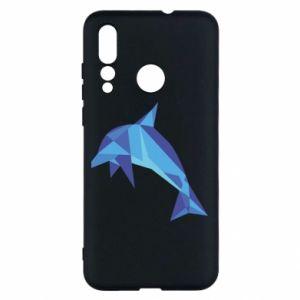 Etui na Huawei Nova 4 Dolphin abstraction