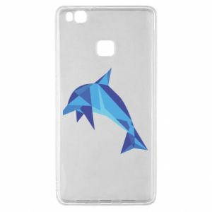 Etui na Huawei P9 Lite Dolphin abstraction