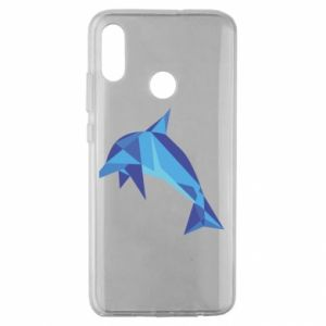 Etui na Huawei Honor 10 Lite Dolphin abstraction